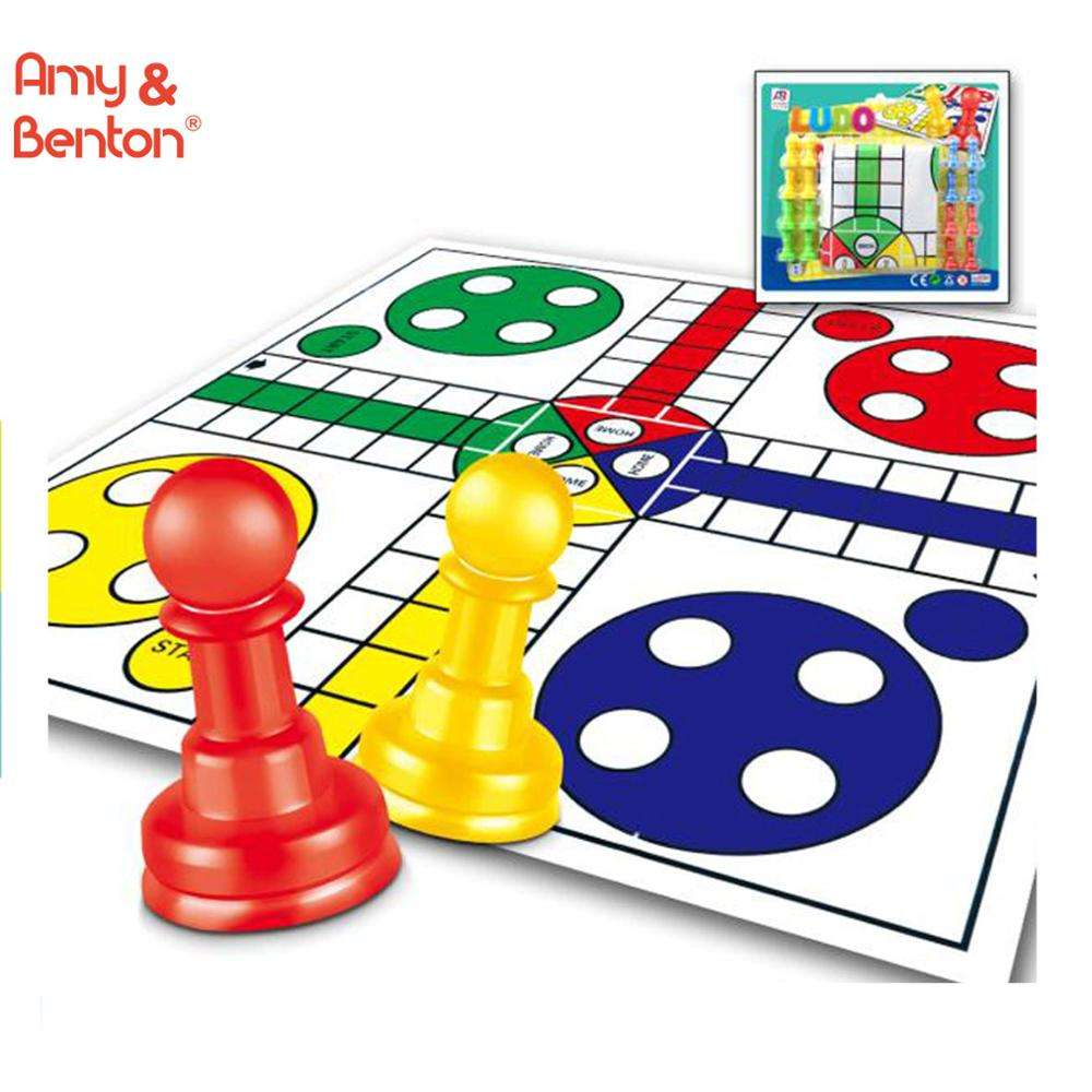 Hot wholesale educational Chinese ludo chess board game