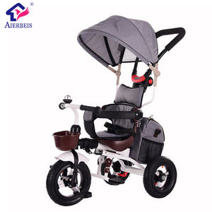 Hot selling kid tricycle / wholesale baby toddler tandem tricycle kids twins double seat bike