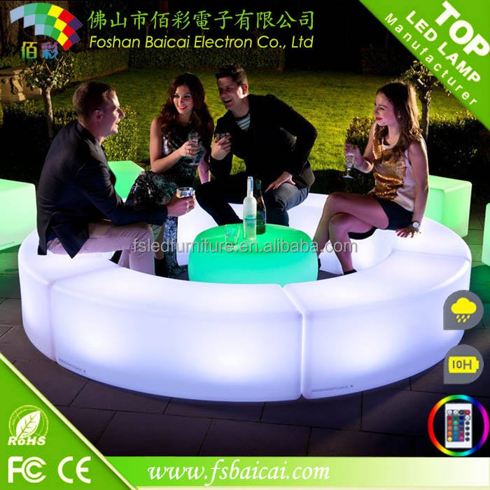 Led Cocktail Bar Tables Rechargeable LED Cocktail Table For Party Hall Decoration LED Bar Table For Event/party/wedding/nightclub Furniture