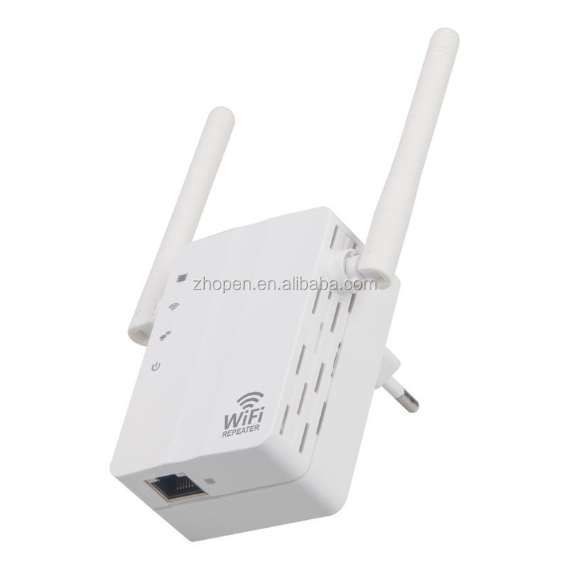 mini port rj45 adapter lan to wifi converter repeater 300mbps wireless wifi booster antenna 500 meters wifi range extender