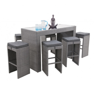 garden furniture sets discount patio furniture rattan bar table and chairs set