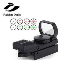 11/20mm Rail Riflescope Hunting Airsoft Optics Scope Holographic Red Dot Sight Reflex 4 Reticle Tactical Gun Accessories