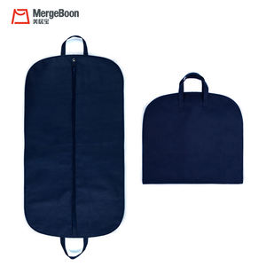 New fashion custom non woven breathable garment clothing suit cover bag