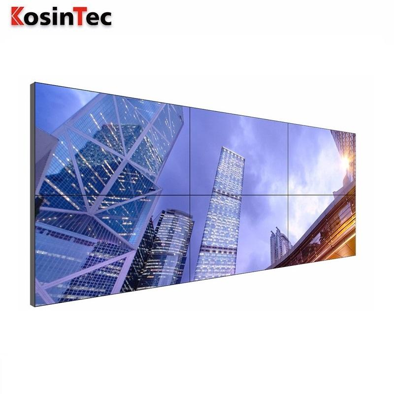 Naadloze grote cctv video wall display lcd video wall prijs