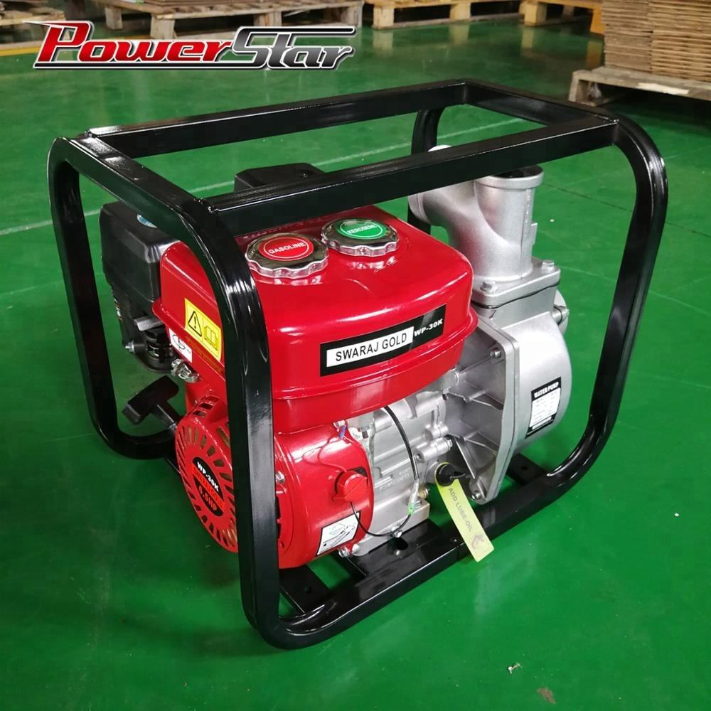 POWERSTAR 3 inch(80mm) WP30K agriculture irrigation Gasoline Start Kerosene Running Water Pump