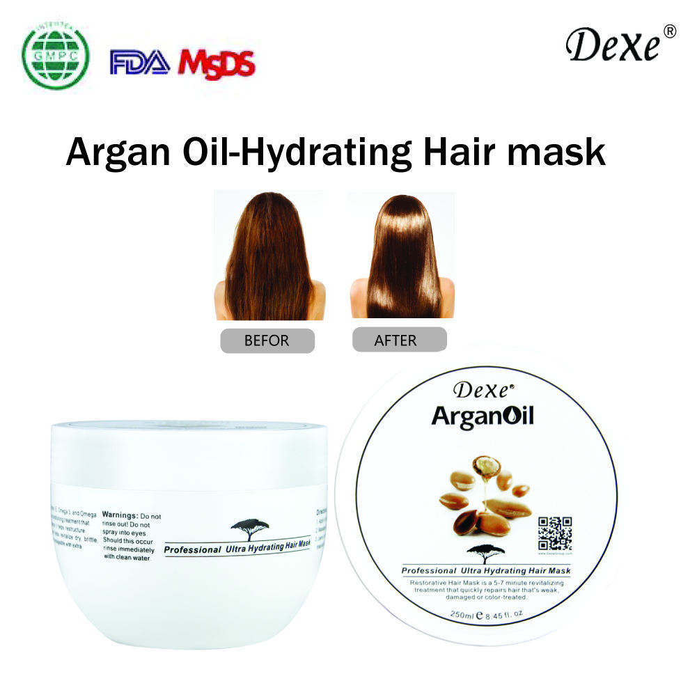 Alibaba innovative products OEM ODM manufacturer argan oil hair mask