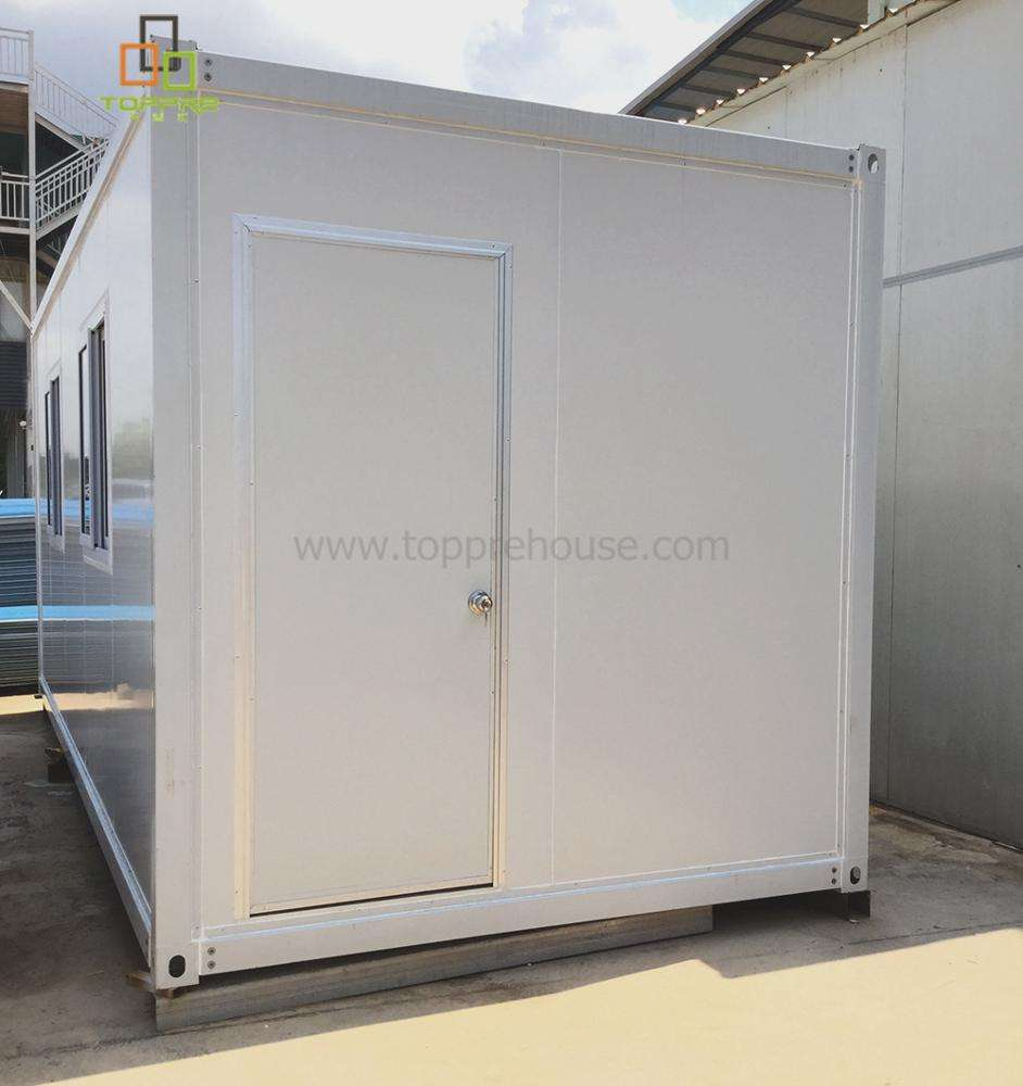 Sale Movable Combined Prefab Container House offices pu sandwich with Toilet & Bathroom