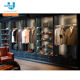 Men's Clothing Display Wall Cabinet Menswear Shop Furniture Store interior design