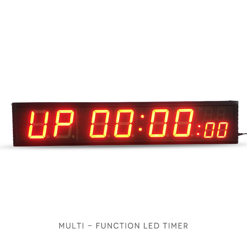 4 Inch High Character LED Timer 8:88 format Countdown//up in Hours Minutes Format
