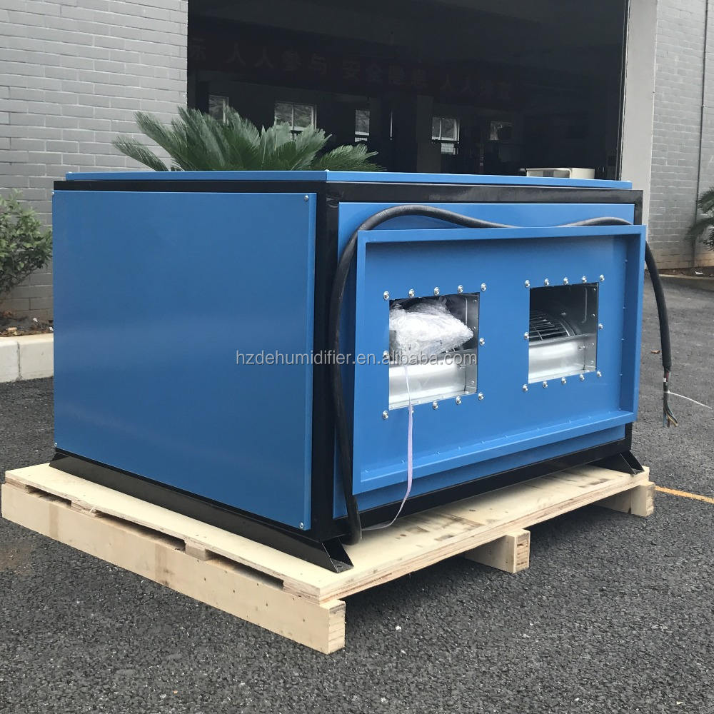 ducted typed dehumidifier 220V 60HZ single phase 380L/D R410a R407c