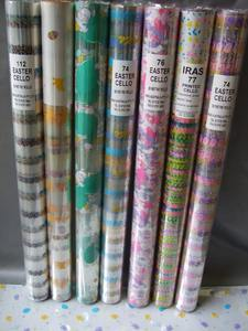 New Design printed cellophane paper roll