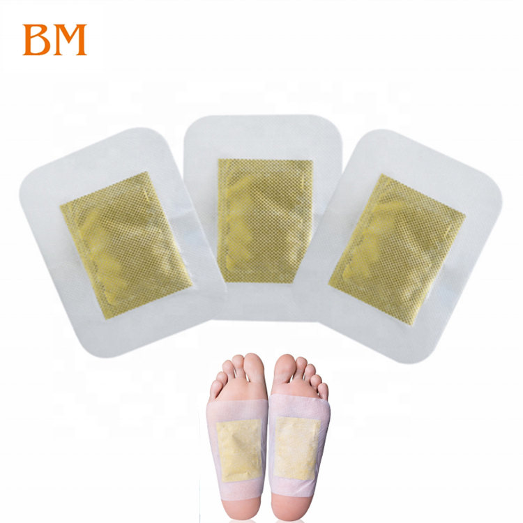 High quality and hot sell Health & Medical product 100% natural Bamboo vinegar 2 in 1 detox foot pads with adhesive