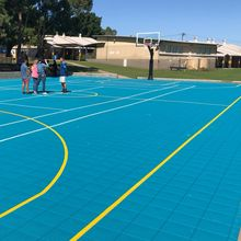 Slip resistance basketball court flooring anti-slip floor for basketball court