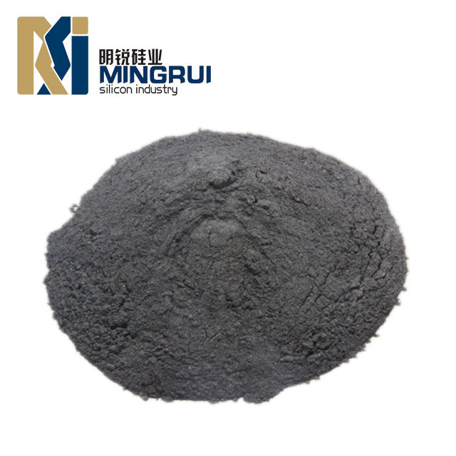 Silicon metal powder for making polysilicon
