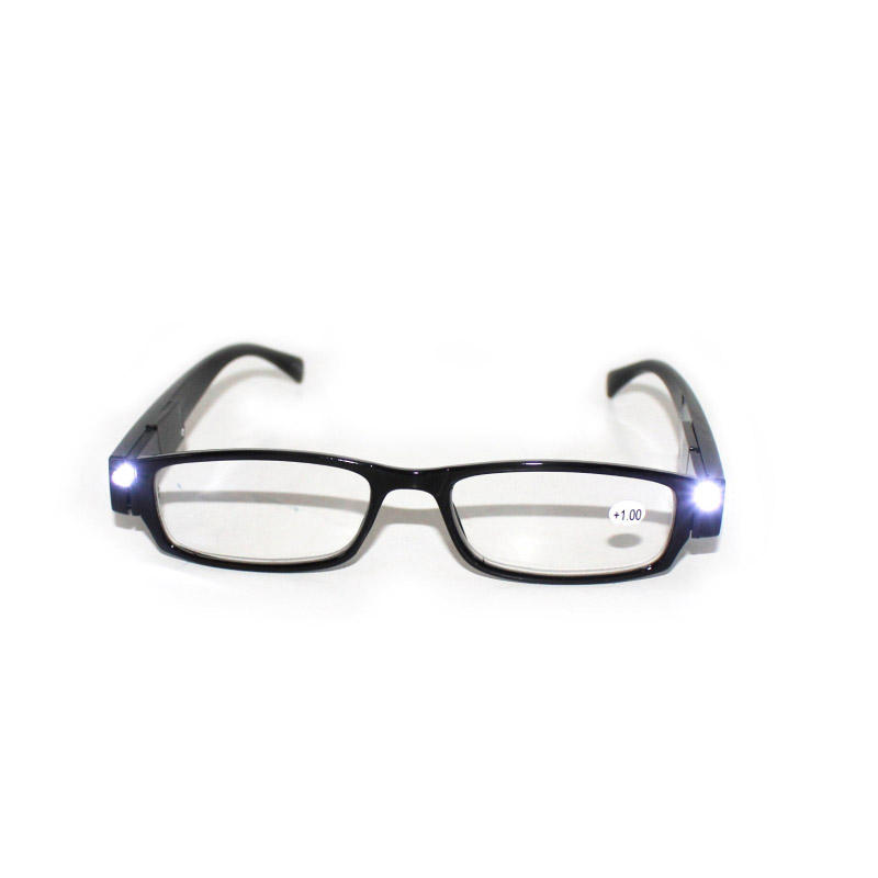 New wholesale fashion led light reading glasses