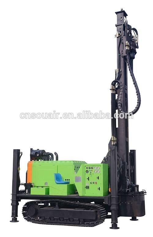 ZGSJ-300 Puits D'eau Foreuse Vers Le Bas Le Trou Séparés pour carrière site projet minier blast trou