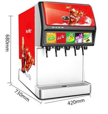 Soda brunnen spender maschine soda wasser dispenser soda, der maschine
