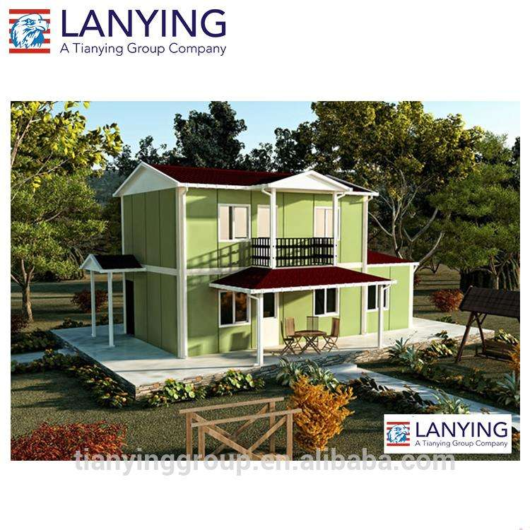 Steel Prefabricated House Villa for Living /Hotel/Office/Kit House
