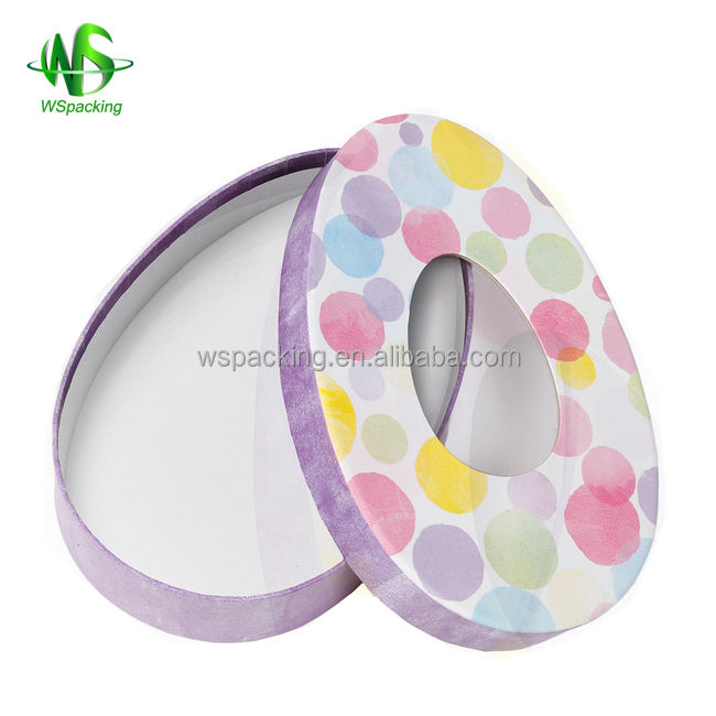 Colored frozen food packaging box with window