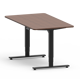Height adjustable stainless steel dining table base designs adjustable height standing desk