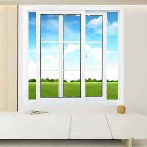 upvc/ pvc/ plastic glass sliding doors windows