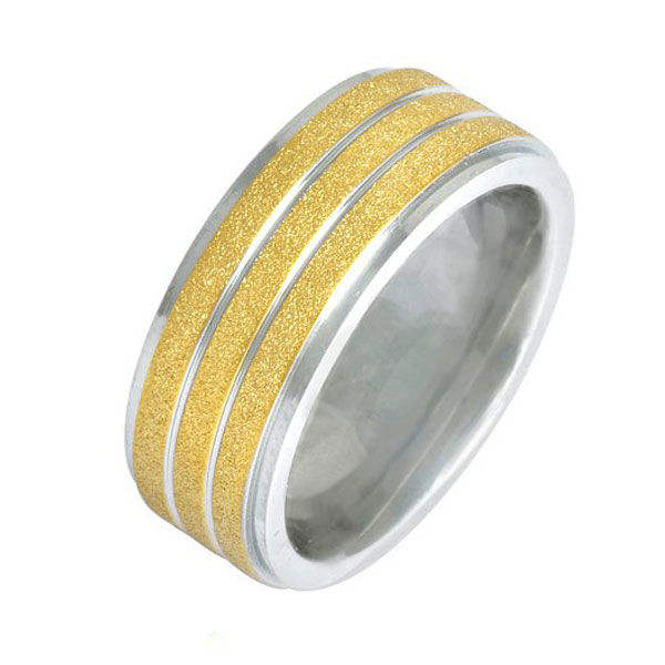Supplier Sand-blast Gold Plated Ring,Timepieces, Jewelry