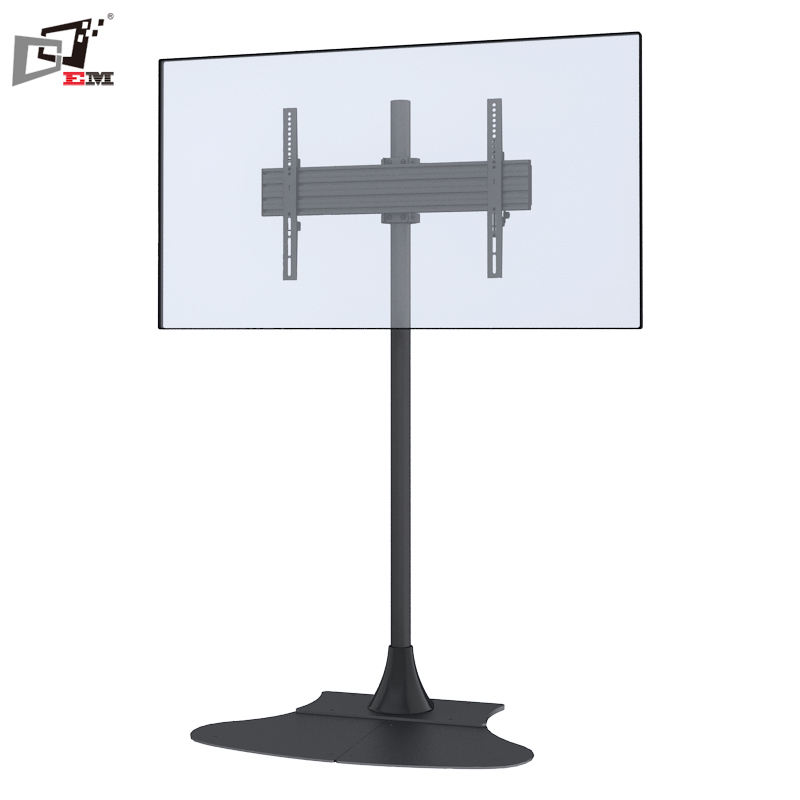 Metal Tv Furniture Modern Modern Made In China Free Standing TV Stand Furniture Modern With Fan Shaped Base Plate