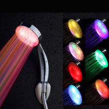 China Hot Sale Bathroom Hardware Accessories Led Colors Light Led Shower Head