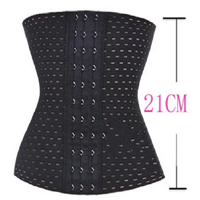 Women Slimming Tummy Waist Trainer Trimmer Corsets with Steel Boned