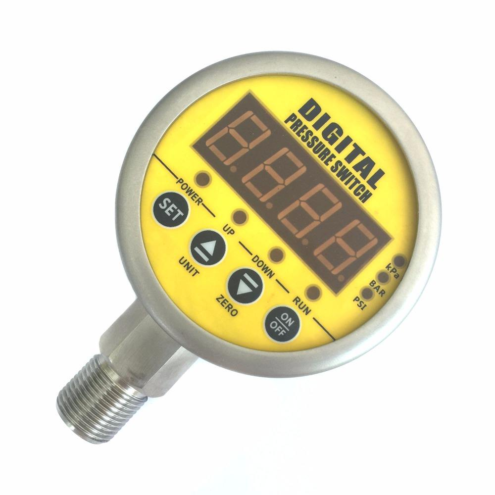MD-800E Tinggi Diferensial Presisi Digital Air/Minyak/Gas Pressure Switch