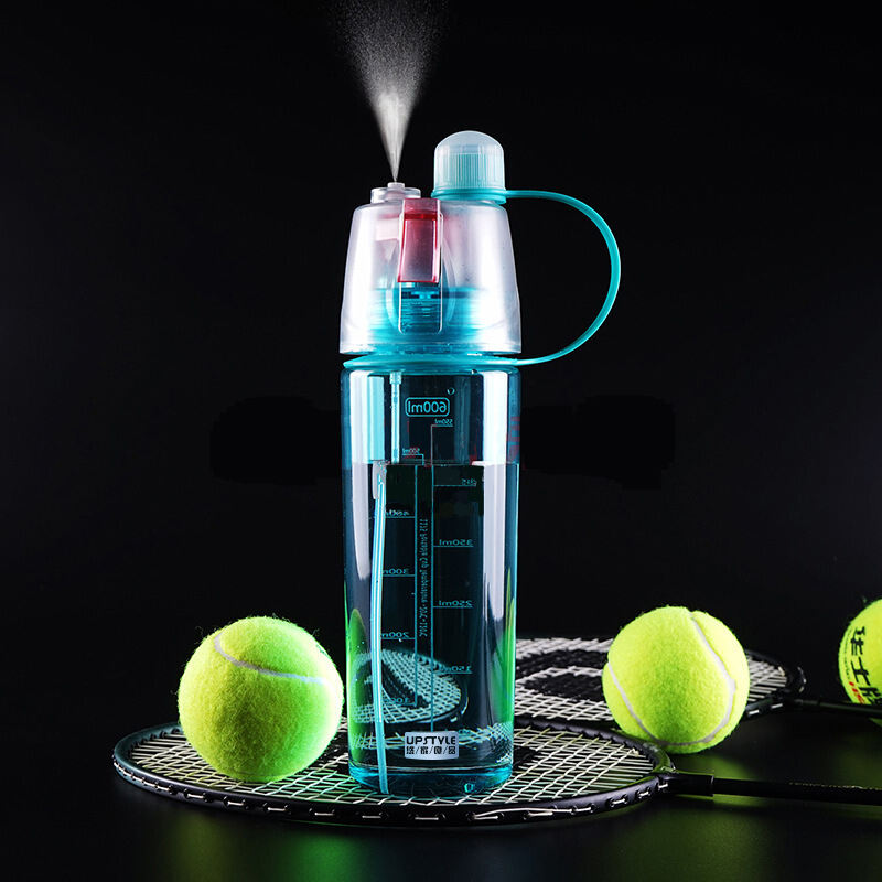 BPA libero di plastica sport mist spray bottiglia di acqua potabile con mist spray