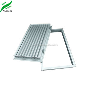 hvac anodized finished aluminum door ventilation grille modern door grill design