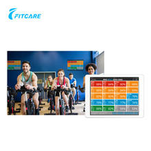 WIFI fitness clubs most popular group fitness management system for indoor outdoor training detect heart rate and cadence