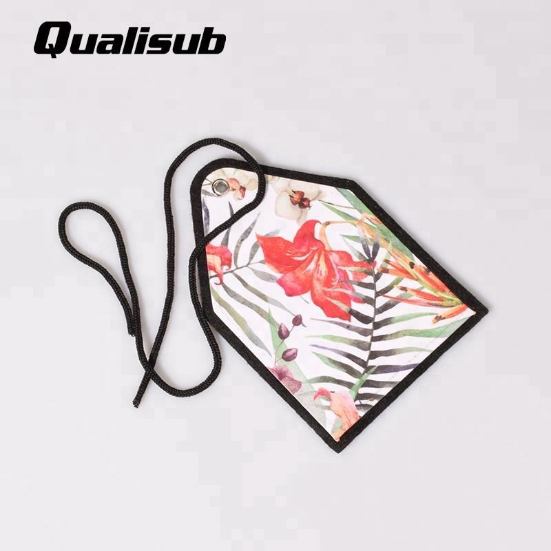 Qualisub Rear View Mirror Hang Tags Car interior Decoration