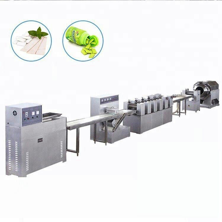 Professional Chewing Gum Making Machine Chewing Gum Production Line