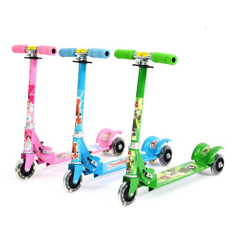 Kids Mobility Kick Scooter Cheap with 3 Wheels for Promotion