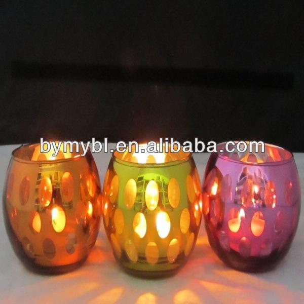 dome shaped porcelain tea light candle holder,tiffany candle holder