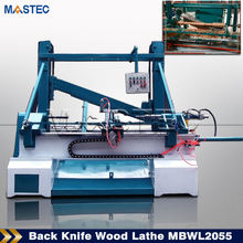Automatic Loading & Unloading Back Knife Wood Lathe