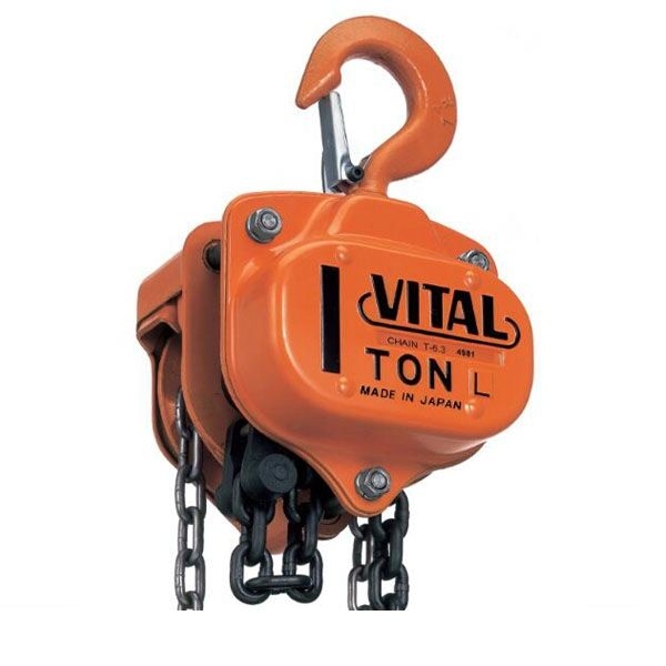 America Building 1 vital chain block 220V Factory best price 2 ton hoist low headroom type