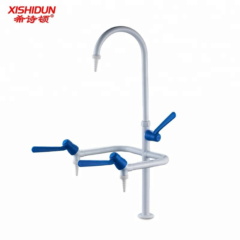 3303 Zwanenhals Triple Laboratorium Water Kraan Tap