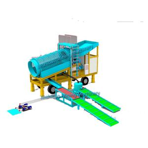Trommel Gold Processing Equipment Gold Ore Wash Plant