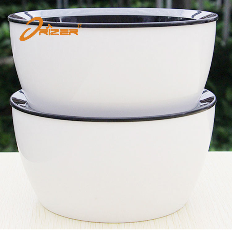 High quality pp material vietnam garden pots / succulent self watering flower pot