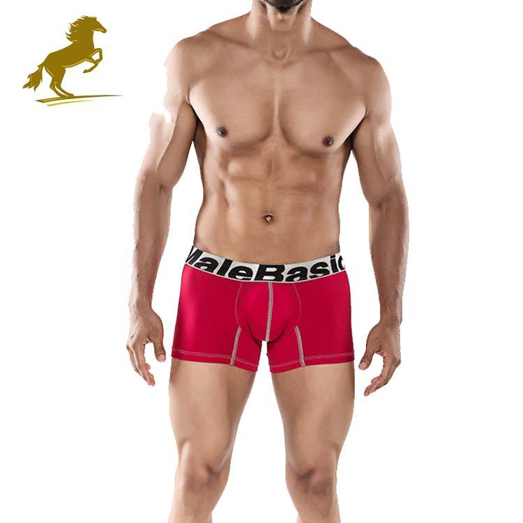 Free Sample Inexpensive Sport Boxer Briefs Sexy Male Underwear