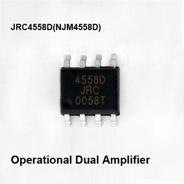 NJM4558d OPAMP GP 3 MHz 8DIP 4558d ic del circuito integrado