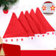 2018 Hot-selling High-grade Non-woven Christmas Present For Children Christmas Hat