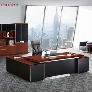 Luxury Office Furniture Design Wooden Bureau Executive Office Table