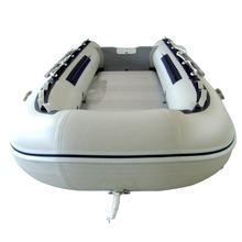3.8 meter PVC tube aluminum floor inflatable BOAT Inflatable dinghy raft Fishing boat paddle rowing boat with CE