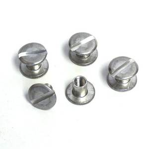 Stainless Steel Chicago Screw Male And Female Small Belt Buckle Chicago Screws