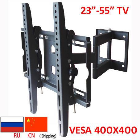 DL-WA-88ST 50Kg 3 Lengan 55 Inch 42 Inch Retractable LED TV Full Motion LCD Wall Mount Bracket Drop Down TV Angkat