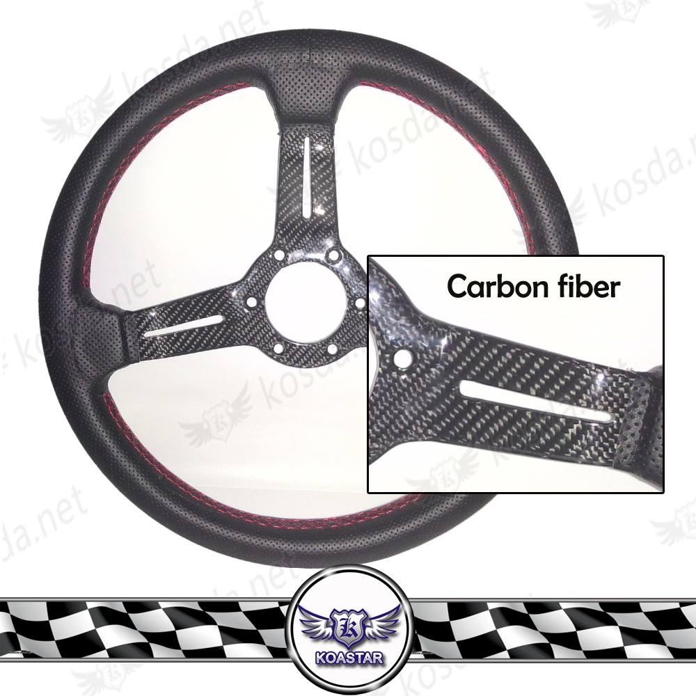 <span class=keywords><strong>Реальные</strong></span> углеродного волокна 3-спицы высокого качества с <span class=keywords><strong>рог</strong></span>овыми пуговицами 100% углеродного волокна рулевого колеса